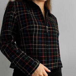 Karin Stevens Vintage Cropped Jacket